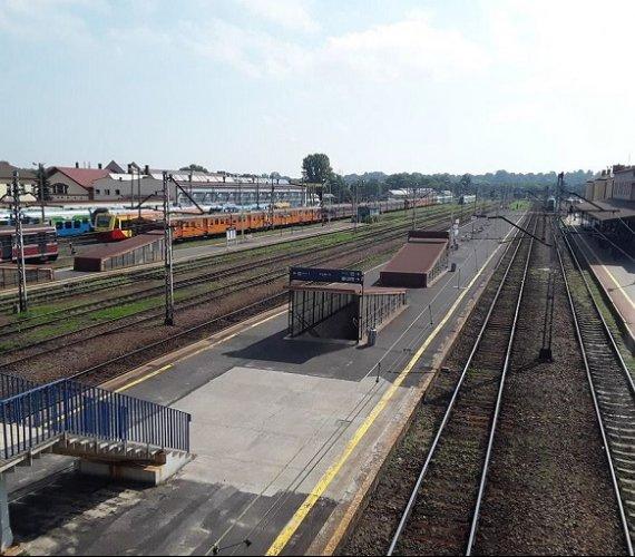 Rozpoczęła się przebudowa peronów na stacji Rzeszów Główny