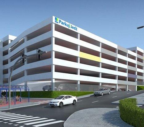 Bydgoszcz: budowa wielopoziomowego parkingu