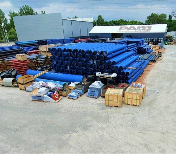 Optymalizacja logistyki w Saint-Gobain PAM