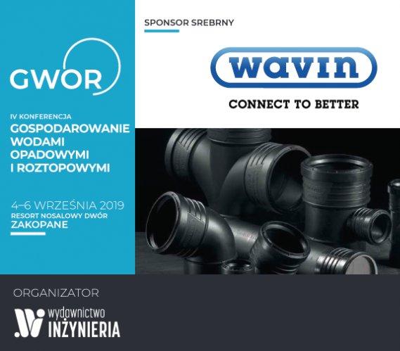 Wavin Polska – Srebrny Sponsor IV Konferencji GWOR