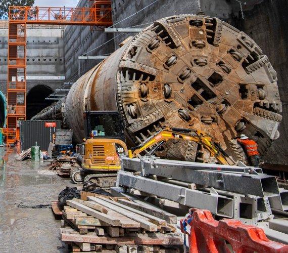 Metro w Sydney gotowe w 50%