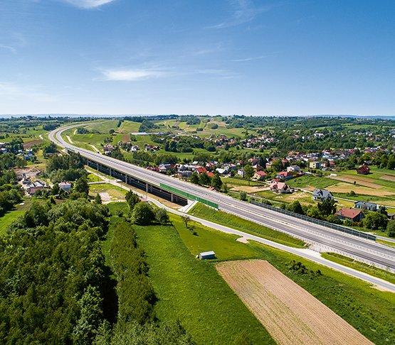Polska część trasy Via Carpatia
