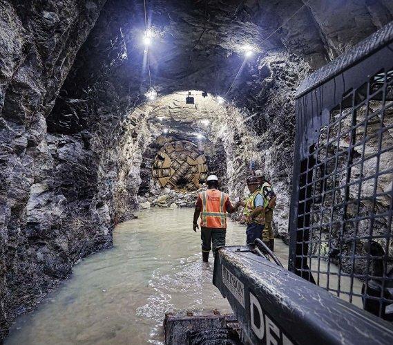 Nowy tunel wodny w Argentynie