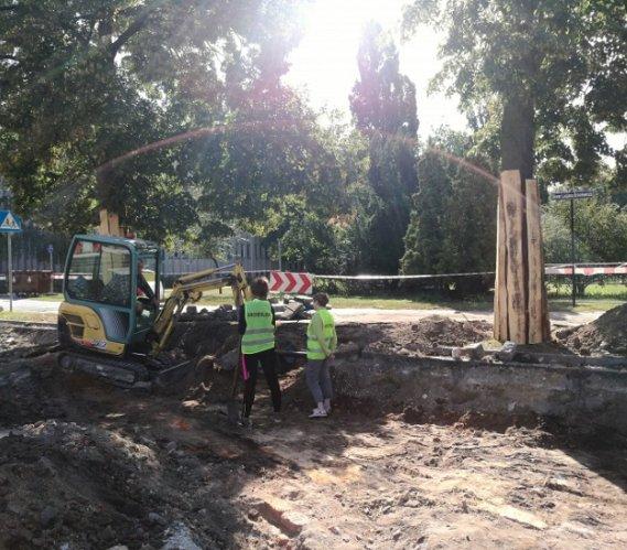 Toruń: archeologiczne odkrycie podczas przebudowy ulicy