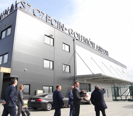 Nowy terminal na lotnisku Szczecin-Goleniów