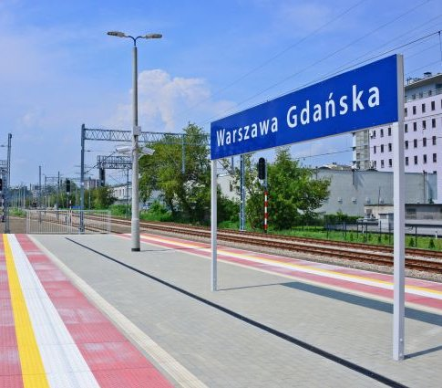 Za 60 mln zł zostanie rozbudowana stacja Warszawa Gdańska