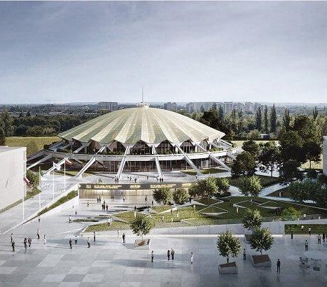Remont hali Arena w Poznaniu [wizualizacje]
