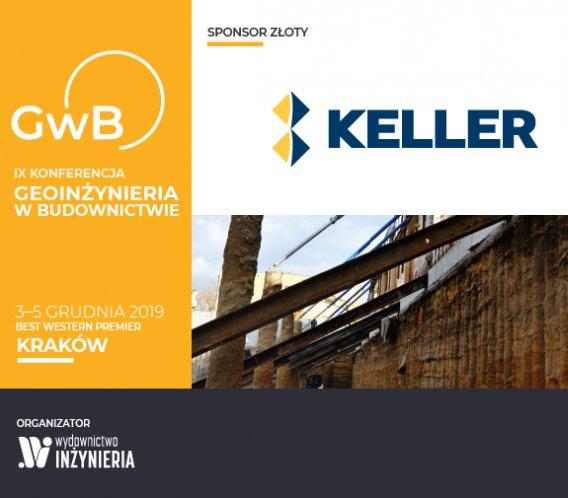 Keller Polska Złotym Sponsorem Konferencji Geoinżynieria w Budownictwie