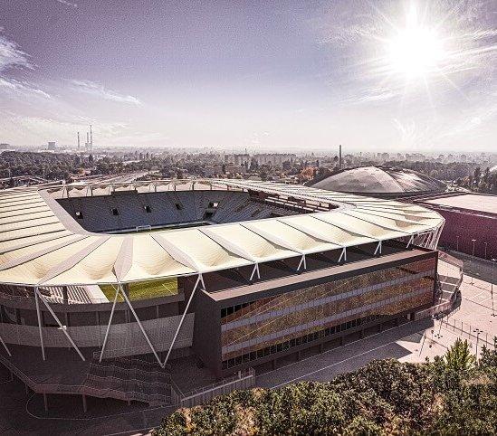 Stadion ŁKS Łódź: słaby grunt wymaga palowania [wizualizacje]