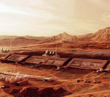 Polscy studenci zaprojektowali kolonię na Marsie
