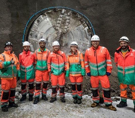 Przełom na budowie Thames Tideway Tunnel