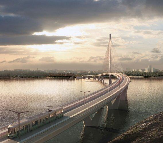 W Helsinkach powstanie wyjątkowy most: tylko dla tramwajów i pieszych