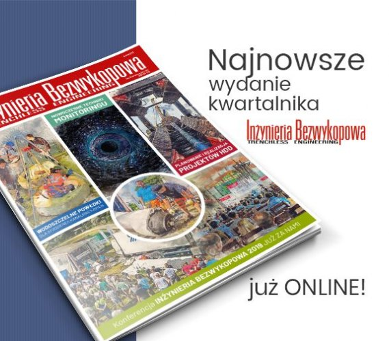 """Jesienne wydanie """"Inżynierii Bezwykopowej"""" już online"""