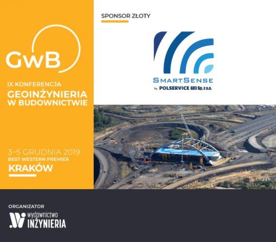 Polservice Geo Złotym Sponsorem IX Konferencji Geoinżynieria w Budownictwie