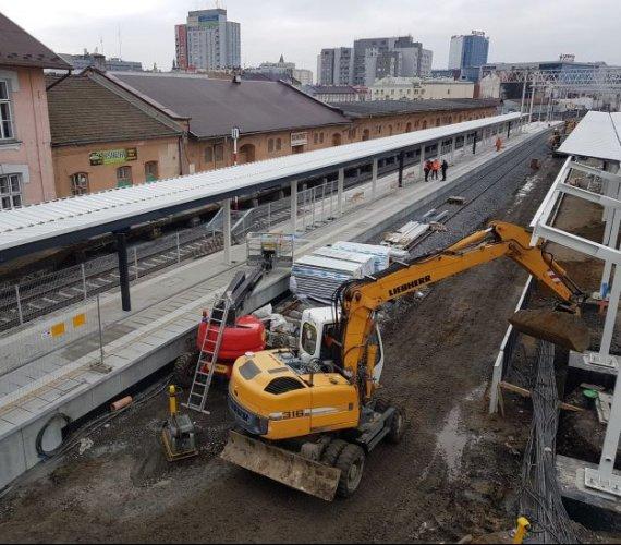 Trwa przebudowa najważniejszej stacji kolejowej na Podkarpaciu