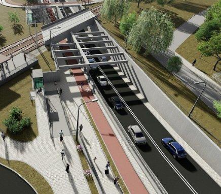 Budowa węzła przesiadkowego na granicy Poznania