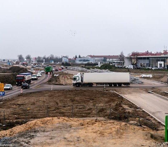 Białystok: kolejne środki na budowę węzła Porosły