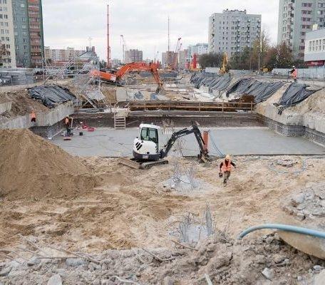 Warszawa: niewybuch na budowie metra