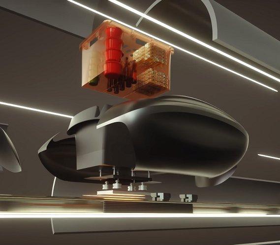 Hyperloop firmy Magway zastąpi kurierów?