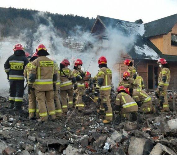Wybuch gazu w Szczyrku spowodowała firma budowlana. Nie żyje osiem osób