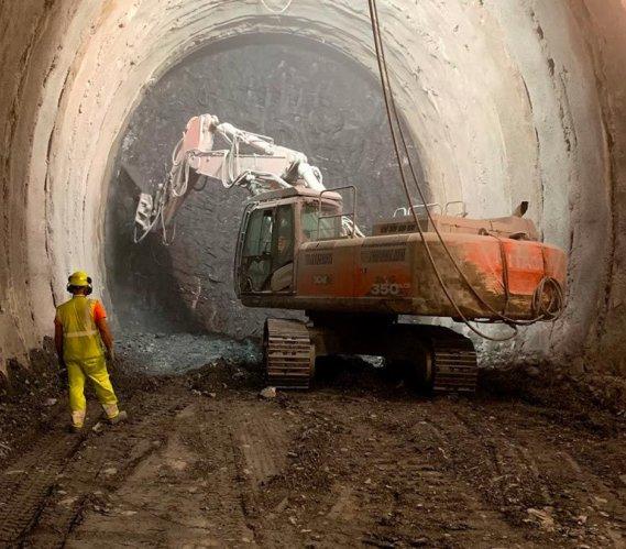 Nowe włoskie tunele kolejowe wydrążone już w 40%
