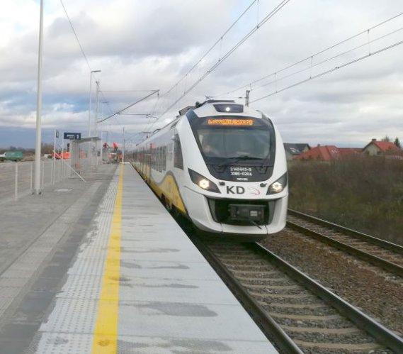 Cztery nowe przystanki kolejowe na Dolnym Śląsku