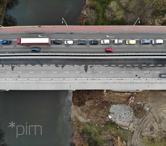 Otwarto nową nitkę mostu Lecha w Poznaniu