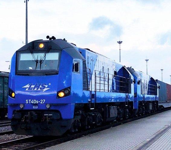 Do Sławkowa dotarł pierwszy taki pociąg z Chin