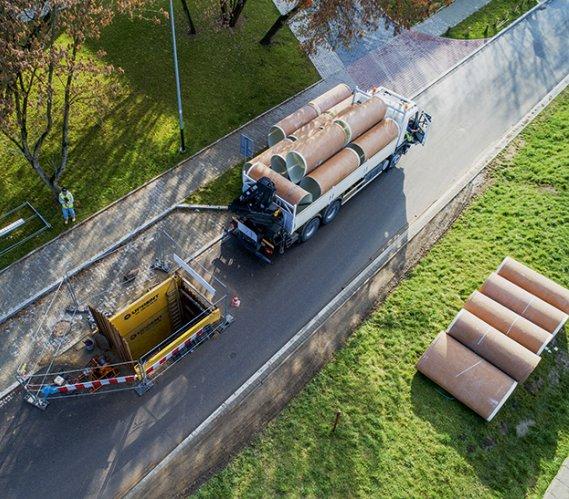 Pierwsza w Polsce  renowacja z zastosowaniem paneli GRP  wyprodukowanych w Dubaju