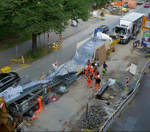 Szybka renowacja kanału o dużym profilu w Hamburgu