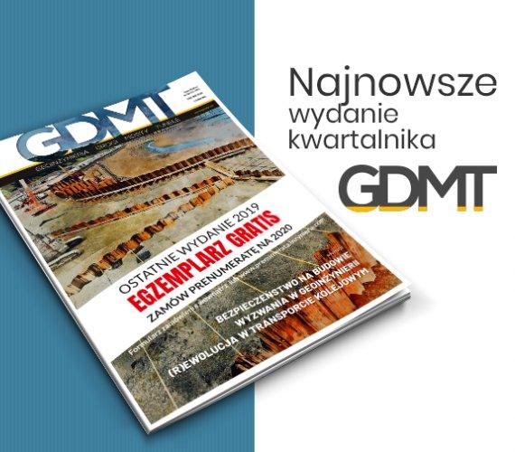 """Nowe wydanie """"GDMT"""" już online"""