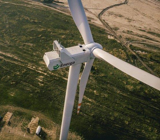 Energa: kończy się budowa farmy wiatrowej Przykona