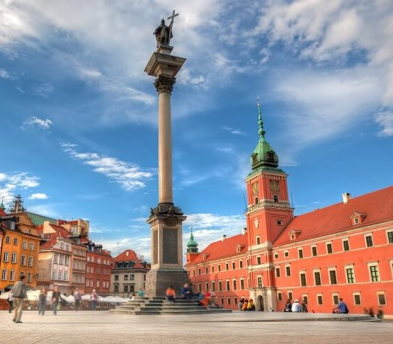 Remont kolumny Zygmunta w Warszawie