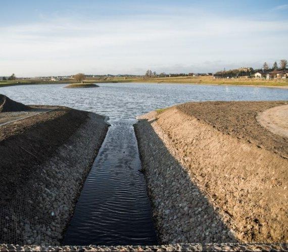 Gdańsk: zbudowano odwodnienie dzielnicy Kokoszki