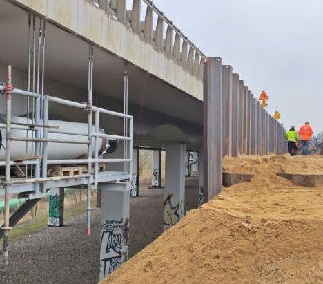Węzeł Granitowa w Szczecinie – trwa budowa mostu