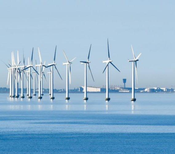 Wzrost mocy morskich farm wiatrowych w Europie