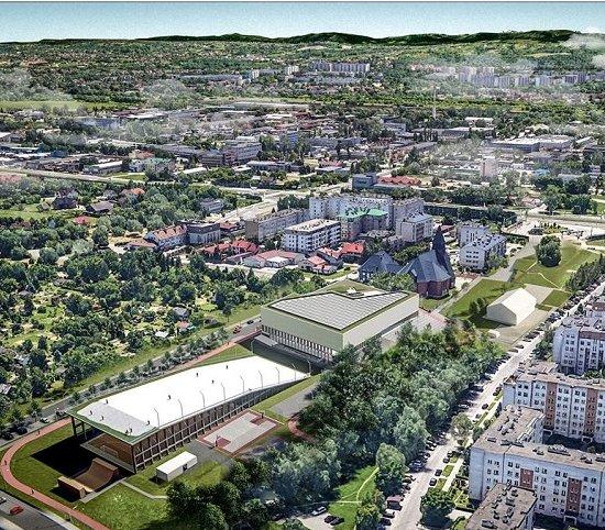 Kraków zbuduje centrum sportowe [wizualizacje]