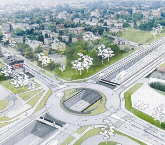 Katowice: budowa ważnego węzła drogowego wkracza w nowy etap