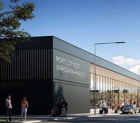 Lotnisko Radom: umowa na budowę terminala