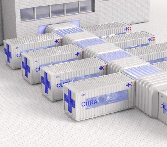 OIOM w kontenerze: nowy pomysł na szpital tymczasowy