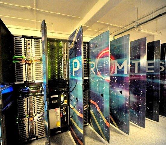 Superkomputer AGH walczy z koronawirusem