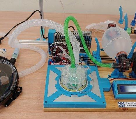 Politechnika Krakowska opracowała prototyp respiratora