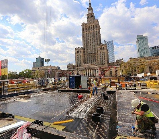 Budowa Muzeum Sztuki Nowoczesnej zbliża się do kolejnego kroku milowego