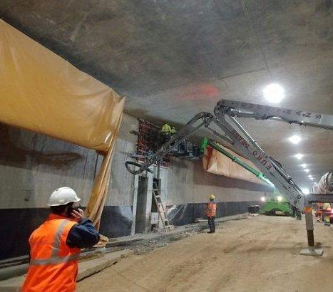 Tunel na Ursynowie: ile jeszcze trzeba wybrać ziemi?