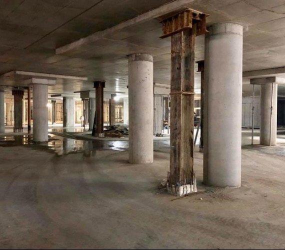 Mury, wykopy, palisady – trwa modernizacja fabryki Norblina