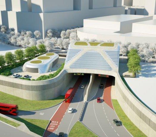 Londyński tunel Silvertown projektowany mimo koronawirusa