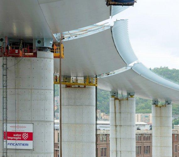Nowy wiadukt w Genui będzie wyposażony w roboty inspekcyjne