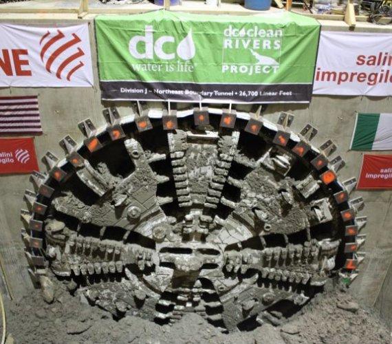 USA: kolejny wielkośrednicowy tunel w budowie