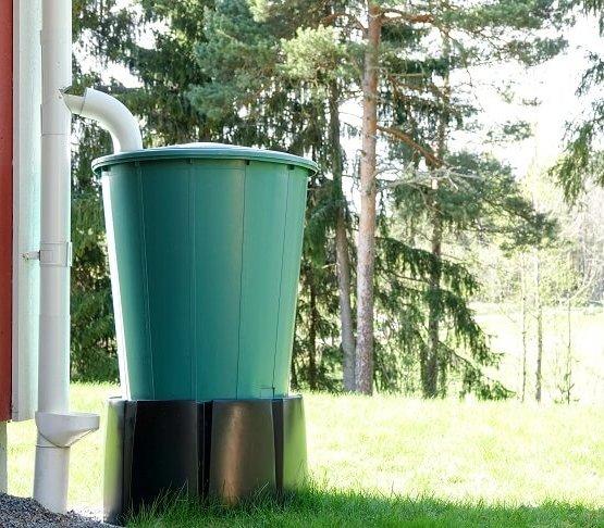 Mikołów dołoży się do zakupu zbiorników na deszczówkę