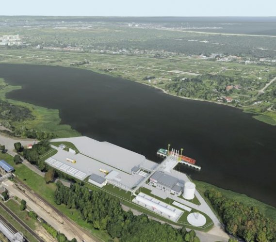 Nowy terminal LNG zostanie wybudowany w Gdańsku